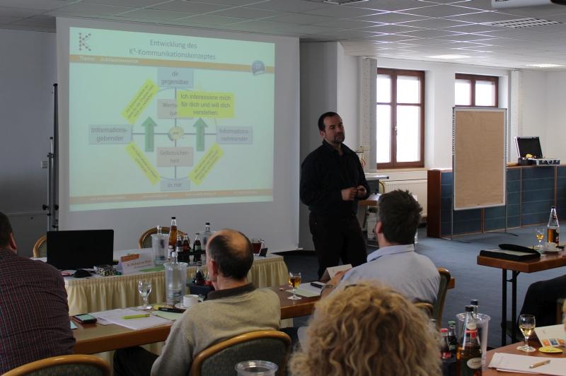 Das Kommunikationskonzept in Dresden