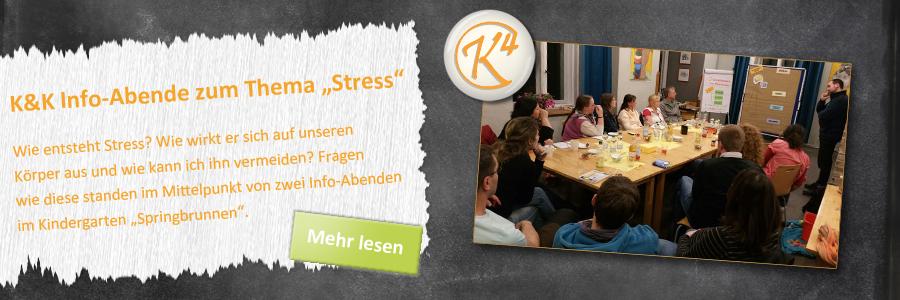 Veranstaltung zum Thema Stress